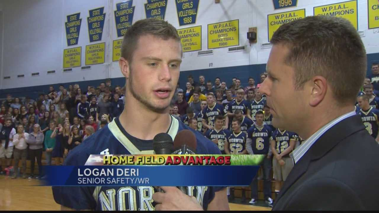 Pittsburgh's Action Sports 4's Ryan Recker checks in from Norwin High School for this week's edition of Operation Football's Home Field Advantage.