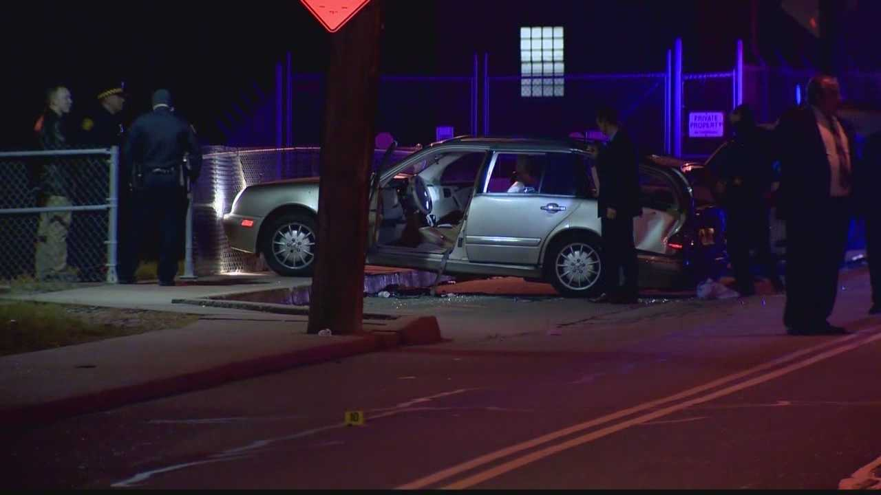 The victim was found shot in the face inside a car that had crashed into a fence in the Mount Washington/Belthoover area.