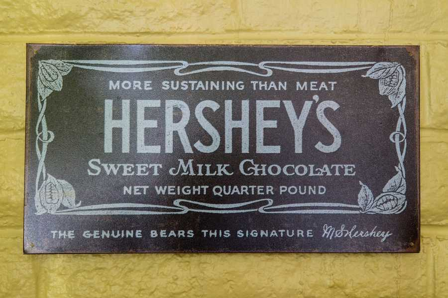 Hershey's ChocolateDate: 1900Milton S. Hershey was the founder of the Hershey Company in Hershey, Pennsylvania. Hershey initially founded the Lancaster Caramel Company which produced caramels using fresh milk to great success.(Source: thehersheycompany.com)