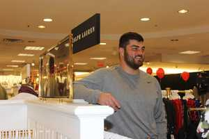 Pittsburgh Steelers guard David DeCastro came out to the shopping extravaganza