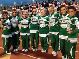 South Fayette High School cheerleaders