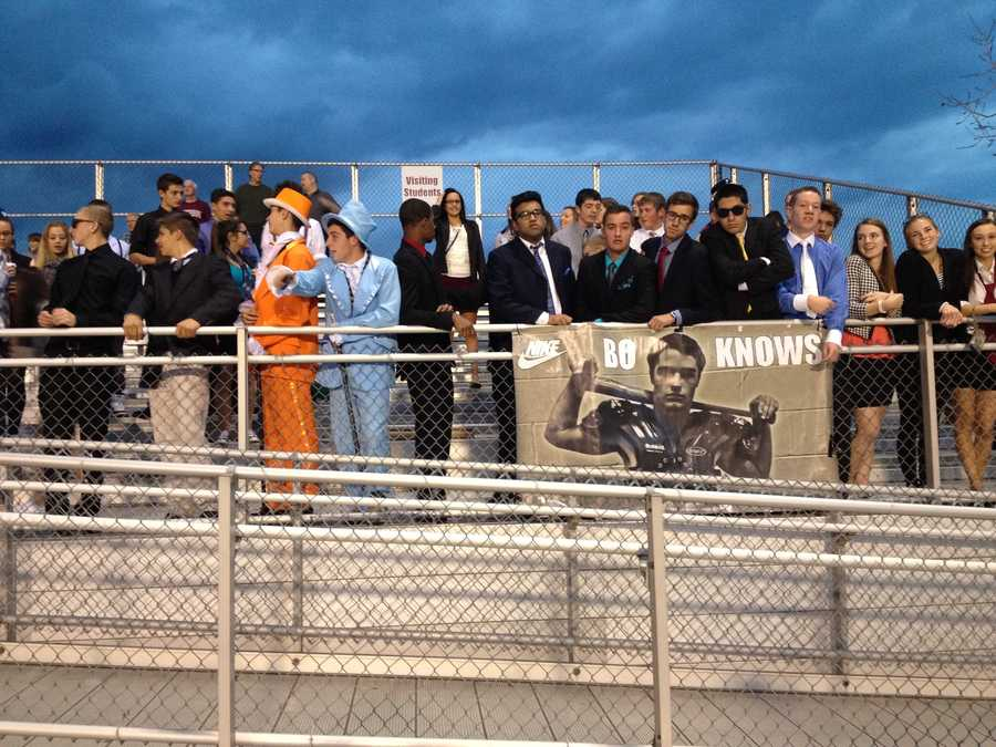 South Fayette High School football fans