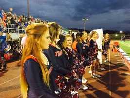 McKeesport cheerleaders