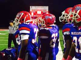 McKeesport hosted Norwin in high school football.