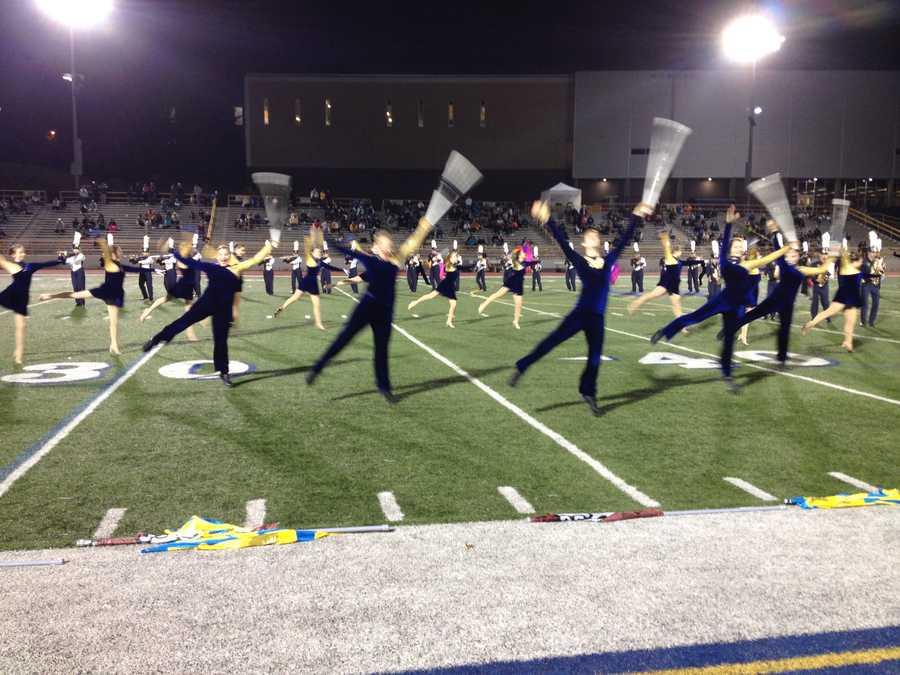 Mt. Lebanon High School band