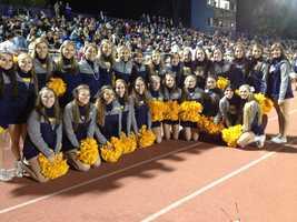 Mt. Lebanon High School cheerleaders