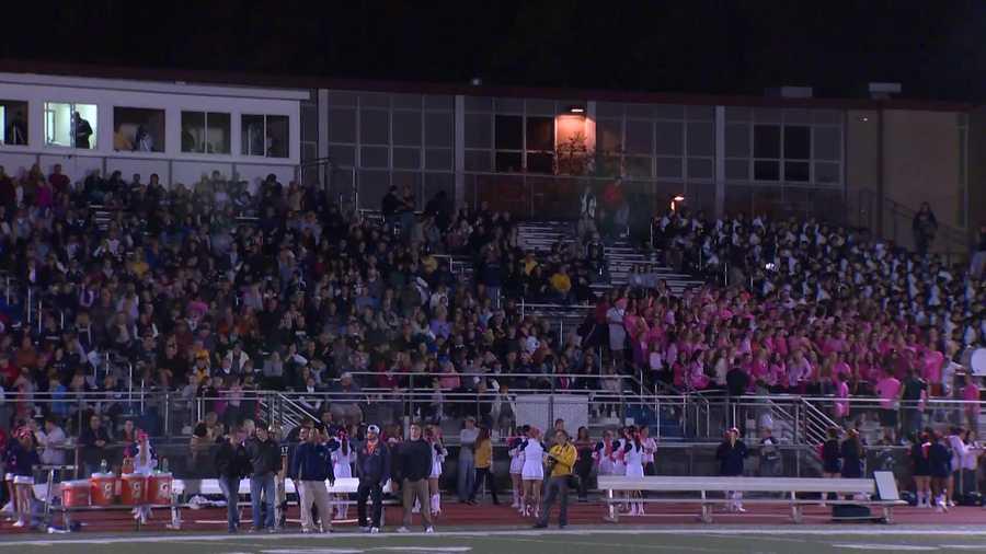 Franklin Regional High School football fans