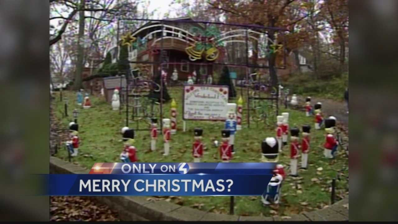 Fairley Road in Ross Township, PA was once a holiday destination for families, but now neighbors warn children to stay away from it.  Pittsburgh's Action News 4's Kelly Brennan has the details...