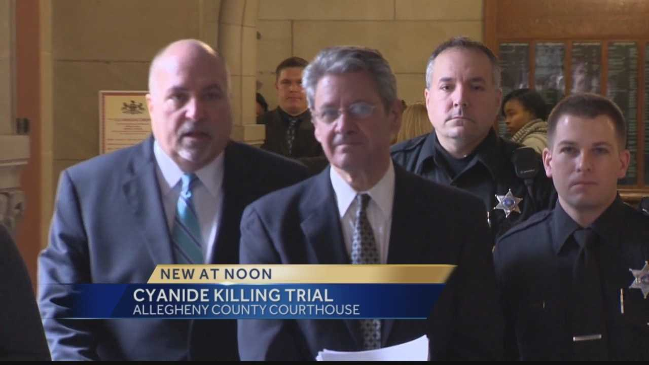 Pittsburgh's Action News 4's Amber Nicotra has the latest on the Jury selection in the trial of a Pittsburgh medical researcher charged with fatally poisoning his neurologist wife with cyanide.