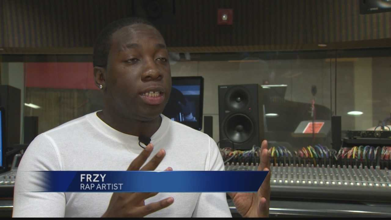 Pittsburgh's Action News 4's Michelle Wright takes a look at an aspiring Pittsburgh rap artist.  He already has a big regional following&#x3B; but his new video just released Monday has him getting some national buzz.  Only on 4news we introduces you to the artist behind the music.
