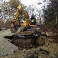 New water main break in South Fayette on Tuesday morning