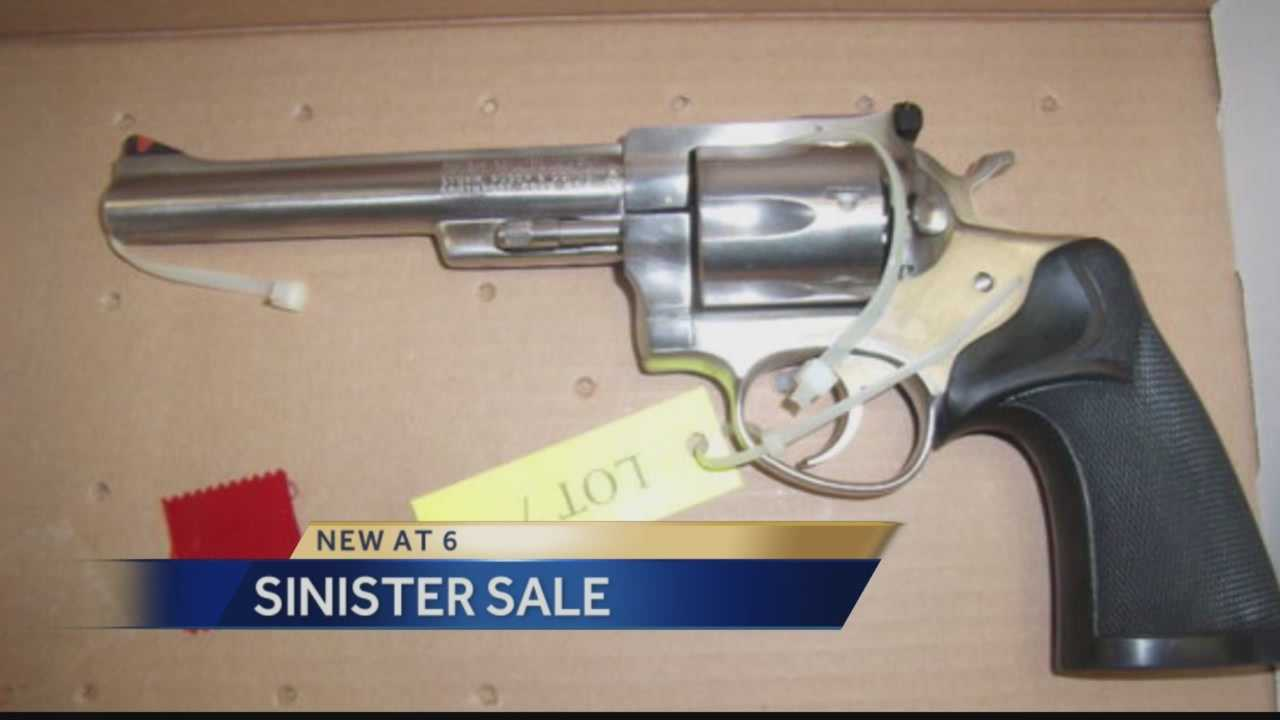 Pittsburgh's Action News 4's Ashlie Hardway takes a look at the Westmoreland County Coroner's Office who are holding an auction Nov. 8 in which 97 guns will be auctioned. Several out-of-service county vehicles will be auctioned as well.