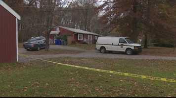State police say a woman was found dead next to her unharmed baby inside her Adams Township home.
