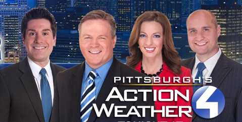 Meet Pittsburgh's Action Weather 4 Team: Meteorologist Steve MacLaughlin, Chief Meteorologist Mike Havey, Meteorologist Ashley Dougherty, and Meteorologist Ray Petelin.
