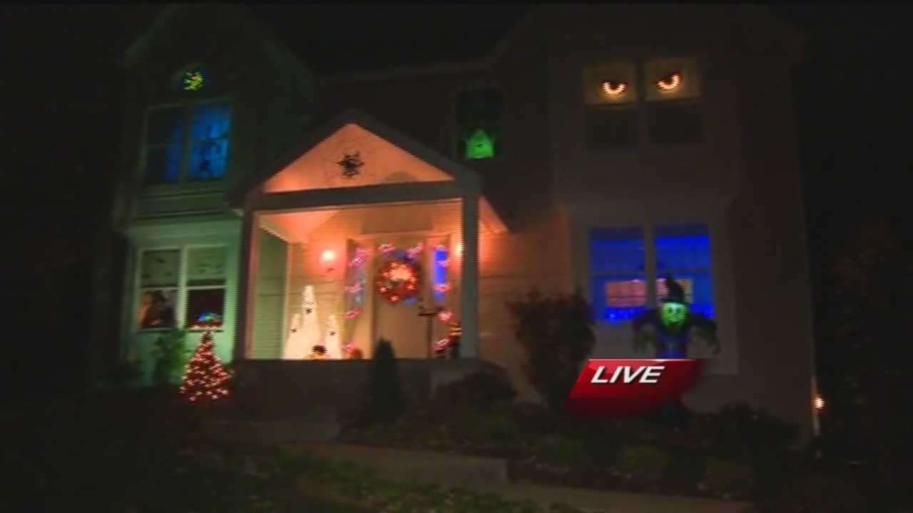 Pittsburgh's Action News 4's Ryan Recker was live Halloween morning at the home of Nancy & Matt Hoffman of Cranberry Township that was selected out of all the U-Local submissions for best Halloween decorations.