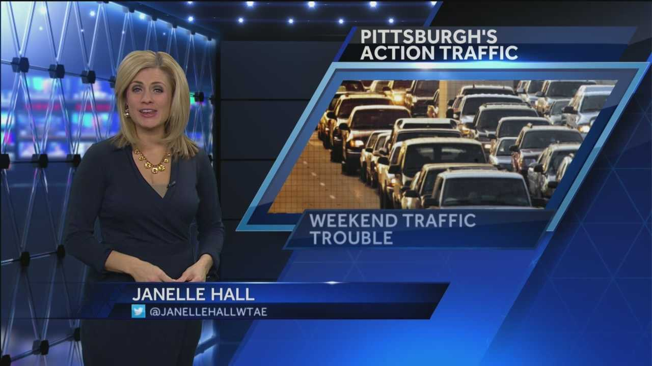 Pittsburgh's Action Traffic Janelle Hall has a preview of the expected traffic delays and closures that will occur this weekend as a result of several large events around our region.