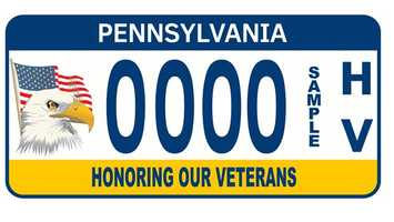 The Honoring Our Veterans plate became available in November 2012. From every plate sold, $15 will benefit the Veterans Trust Fund.