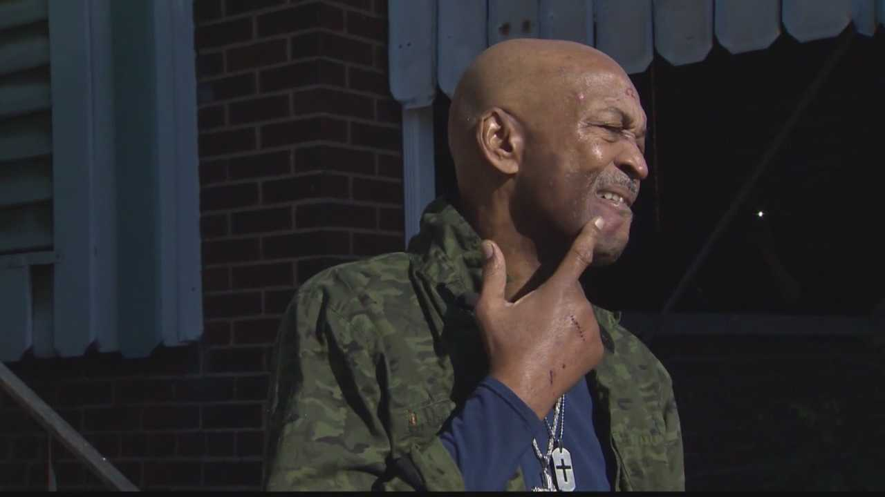 The Rev. Reginald Myers says he went outside to help a woman but was assaulted by her and two men.