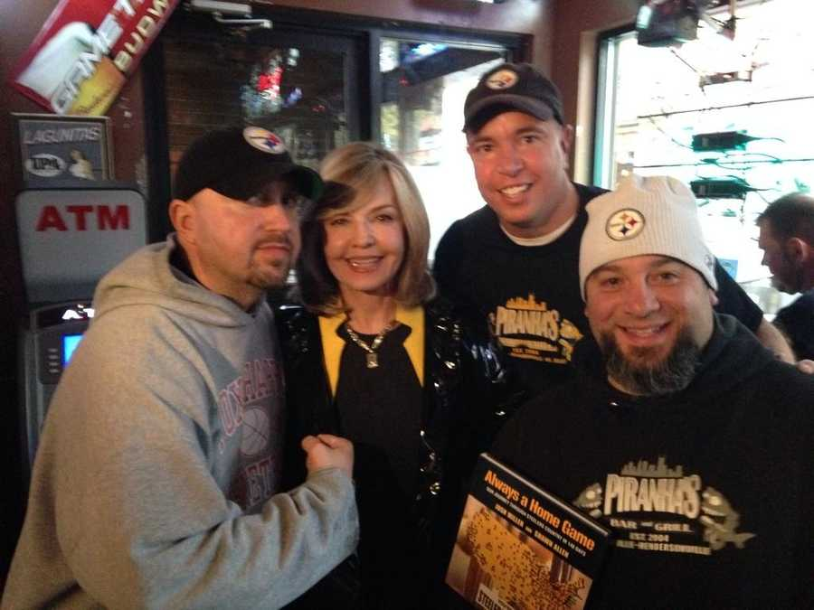 @SWigginWTAE with #SteelerNation Join her as she shows you where fans gather in Nashville. @WTAE Monday at 7