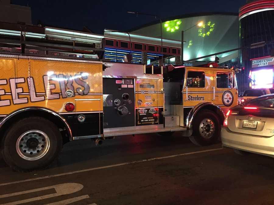 Steelers fire engine in Nashville