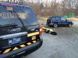 The fatal crash happened outside Larry Matter's Car, Truck & Trailer Service on Saltsburg Road.