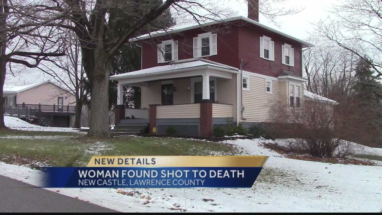 Police said Amanda Seman was found shot in a house on Falls Avenue in Neshannock Township.