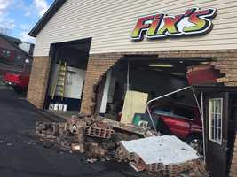 Fix's Body Shop on Route 30 in North Huntington