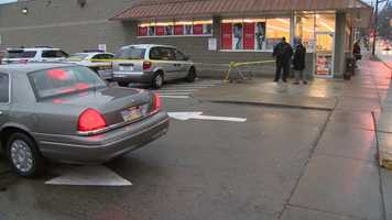 A pregnant woman was fatally struck by a van in the parking lot of Rite Aid on Pennsylvania Avenue on the North Side.