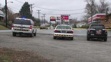 State police said a man was shot outside the Caddy Shack Sports Bar in South Union Township, Fayette County.