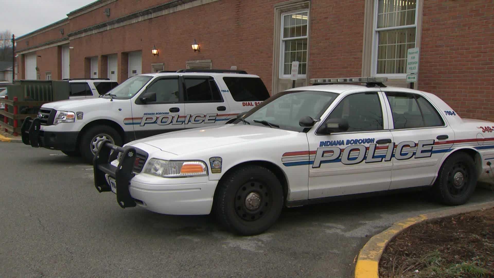 Indiana Borough police cars