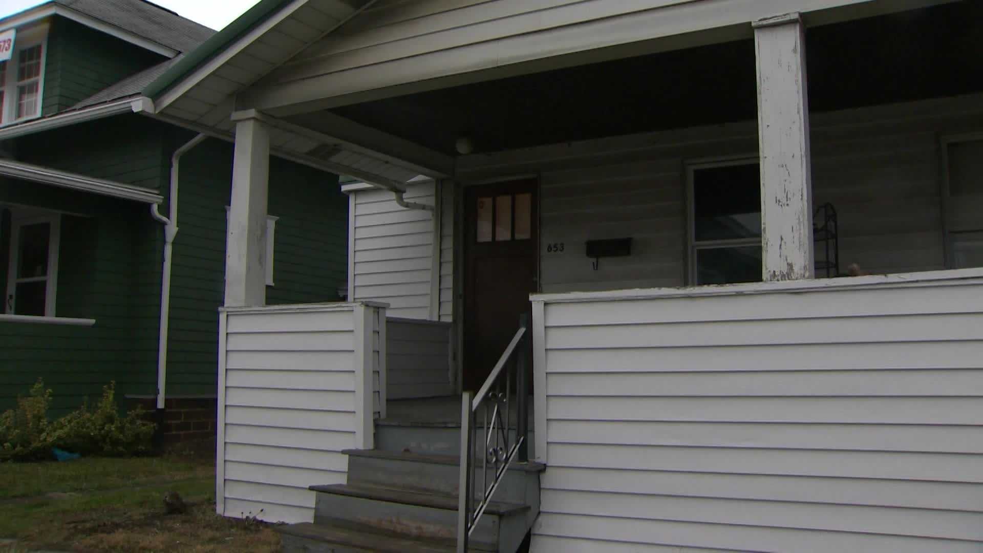 Two IUP students were victims of a home invasion when two gunmen broke into their off-campus home on Locust Street.
