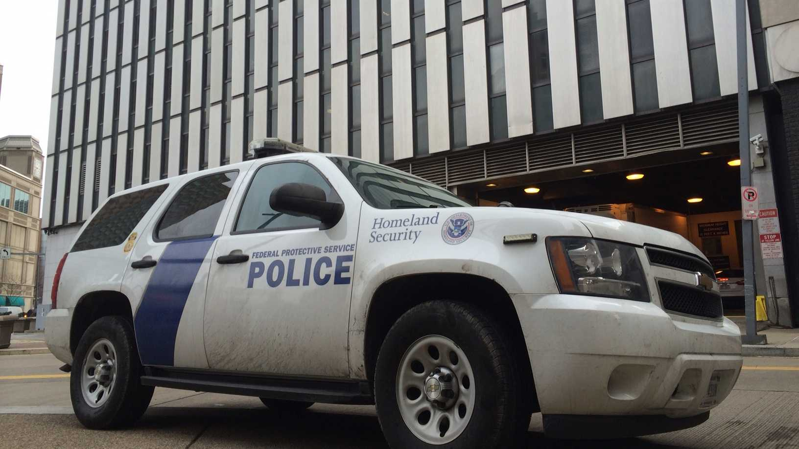 The Federal Protective Service is the police force of the Homeland Security department.
