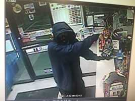 Surveillance image of a robbery at CoGo's on Route 51 in Rostraver Township.