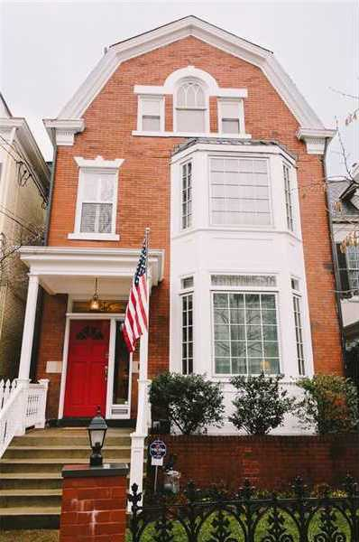 Location: 424 Emerson St, Shadyside, PAThis beautiful brick Victorian includes a formal dining room, renovated kitchen, five bedrooms, four bathrooms, and is featured on realtor.com.