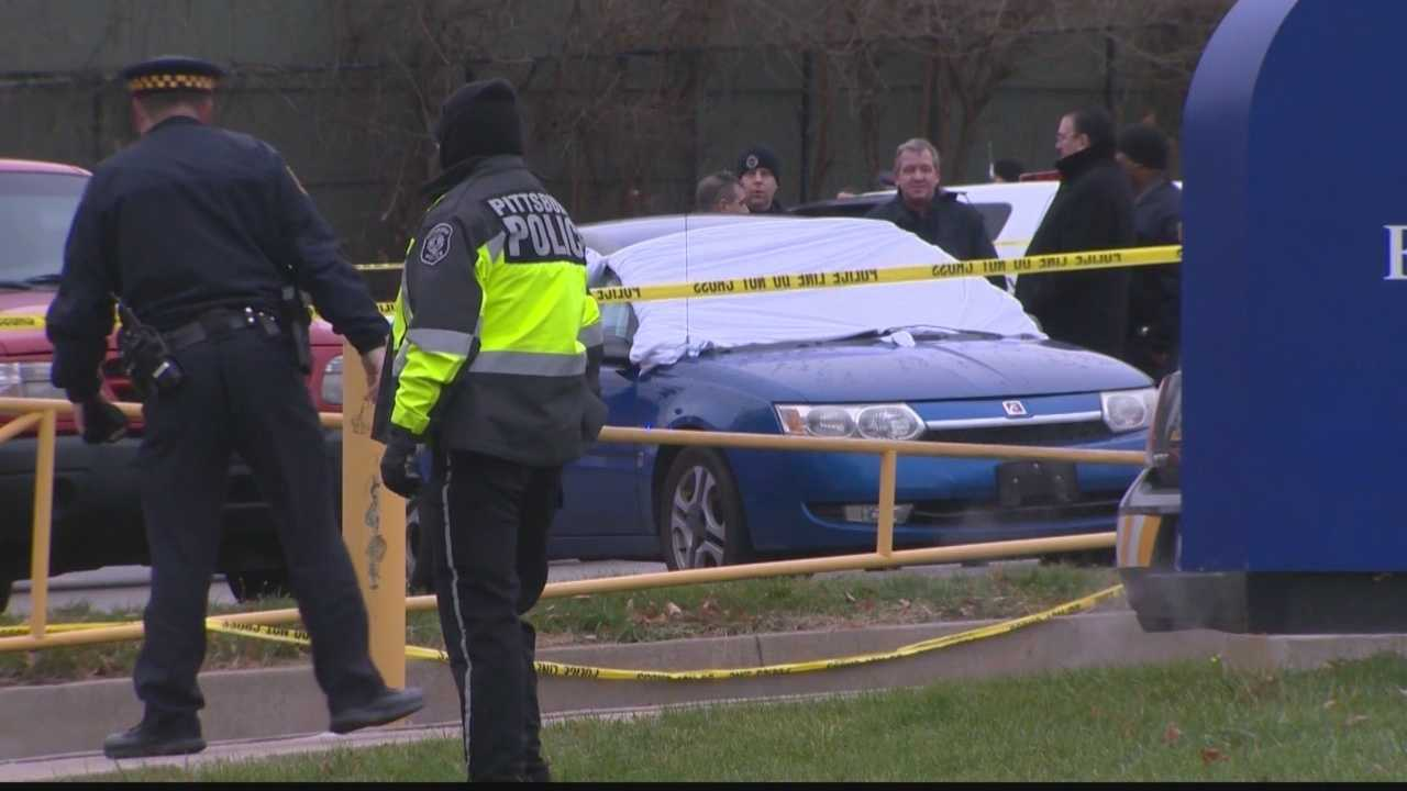A body was found in a car in the parking lot of Pittsburgh Sunnyside PreK-8 school.