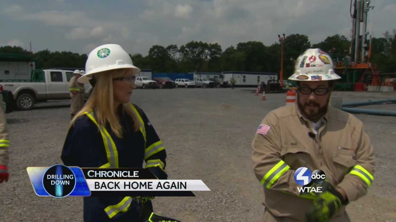 """Chronicle Co-Host Shannon Perrine focuses on how Pennsylvanians are returning home thanks to the natural gas drilling industry after working on other states for the first time in a long while in our """"Back Home Again"""" segment. Chronicle Host Sally Wiggin takes us to the issue of drilling within State Parks and Forests."""