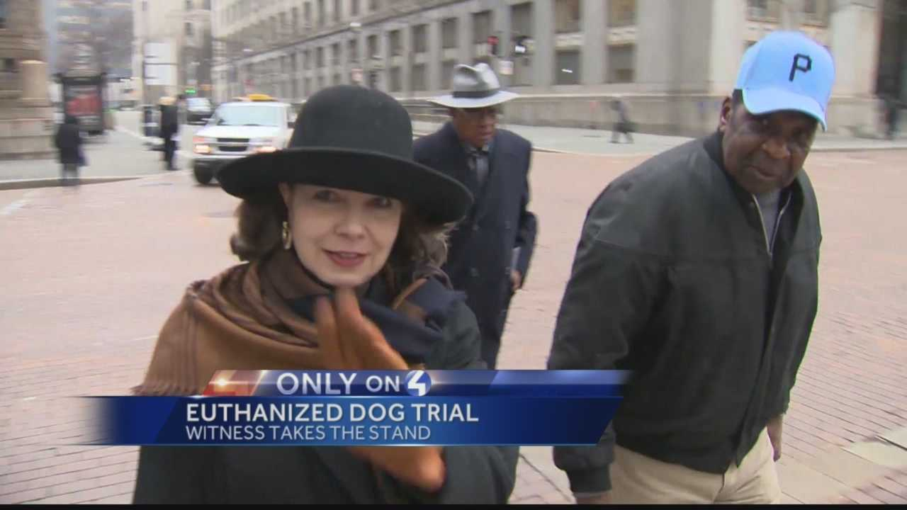Pittsburgh's Action News 4's Janelle Hall has the latest from the court house in the trial over the theft and euthanization of a dog.