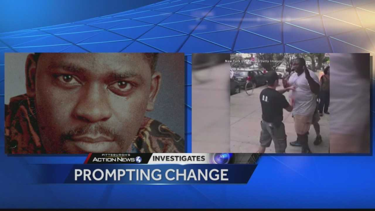 A former state legislation says the 1995 death of Jonny Gammage during a traffic stop with five white officers in Pittsburgh sparked a positive change in the law.