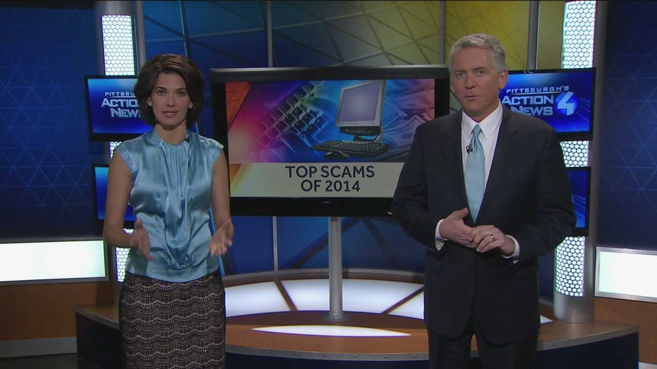 Pittsburgh's Action News 4's Wendy Bell and Mike Clark take a look back at the top scams of 2014 and how to watch out from these happening to you.