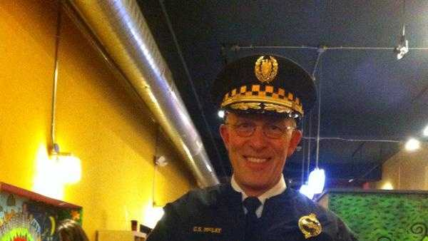 This photo of Pittsburgh Police Chief Cameron McLay was posted on Twitter.