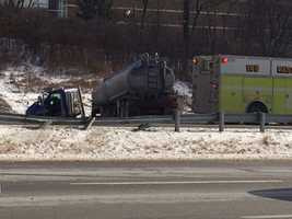 A multi-vehicle crash on Interstate 79 near Wexford.