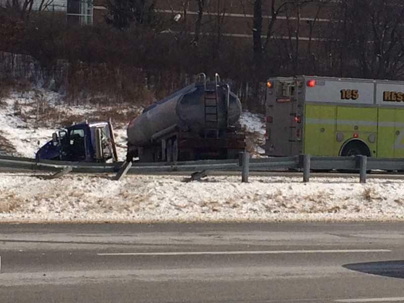 A multi-vehicle crash on Interstate 79 near Wexford.