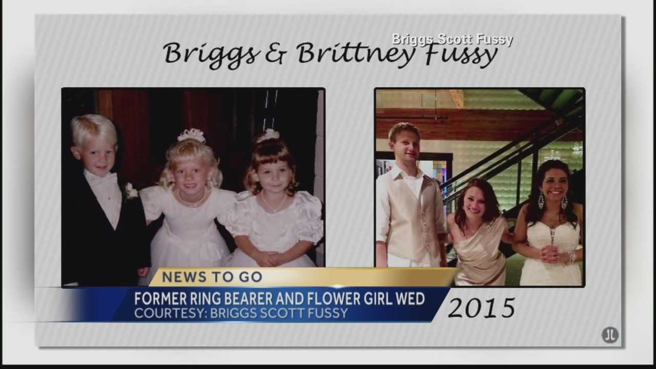 Pittsburgh's Action News 4's Michelle Wright has the amazing story of a ring bearer and flower girl from a wedding 20 years ago who have just web each other now in 2015.