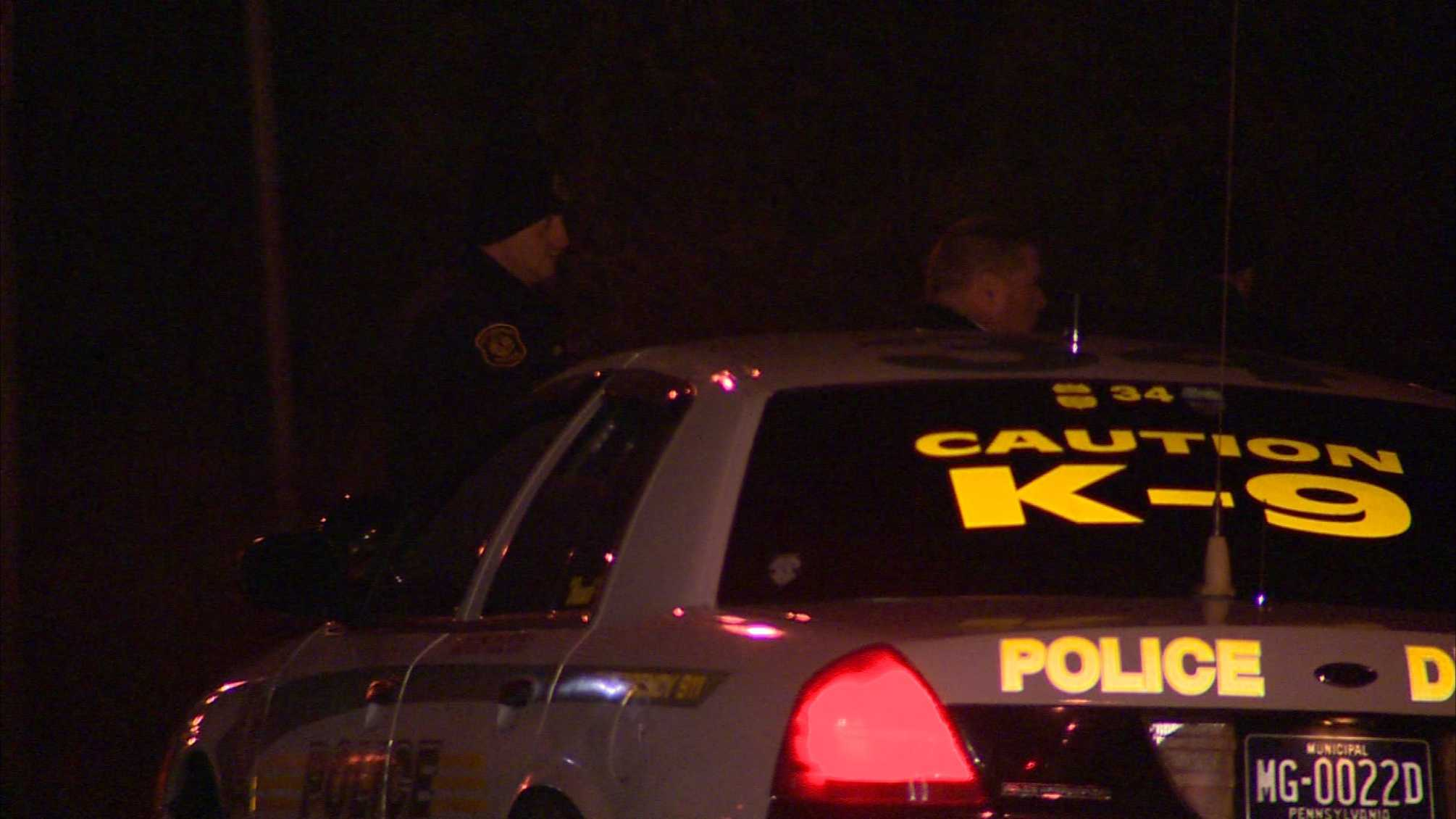 A person was shot in late Sunday night in Homewood, Pittsburgh police said.