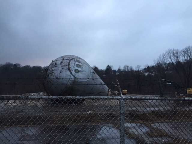 The old Westinghouse atom smasher has been a common sight for people driving through the Forest Hills area.