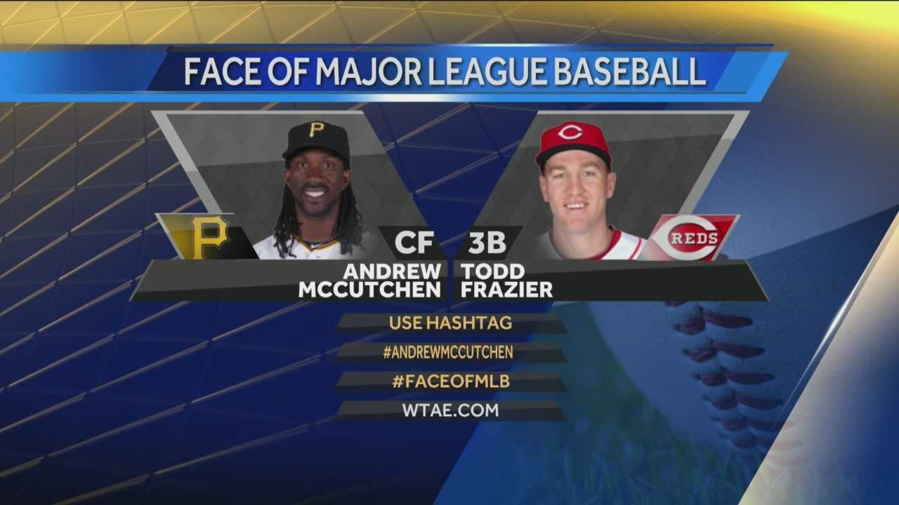 Pittsburgh's Action Sports' Ryan Recker has the latest on the digital voting between Pittsburgh's Andrew McCutchen and Cincinnati's Todd Frazier to be the face of Major League Baseball.