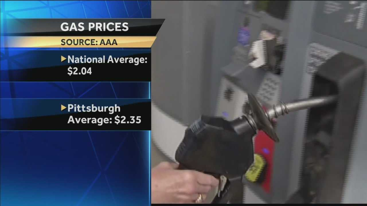 Pittsburgh's Action News 4's Kelly Frey has the latest on the continual drop at the pumps for Pennsylvania and across the nation.