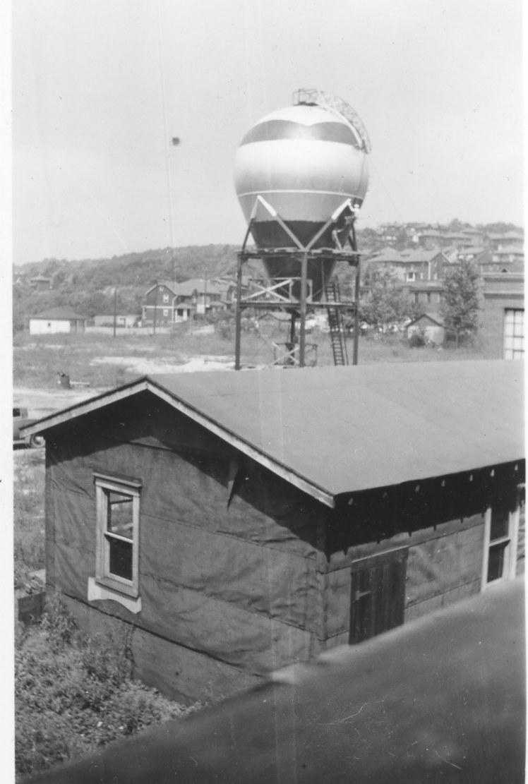 A vintage picture of the atom smasher from 1937, used with permission from the son of a former employee at the Westinghouse facility.