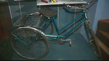 "A bicycle from ""Mister Rogers' Neighborhood."""