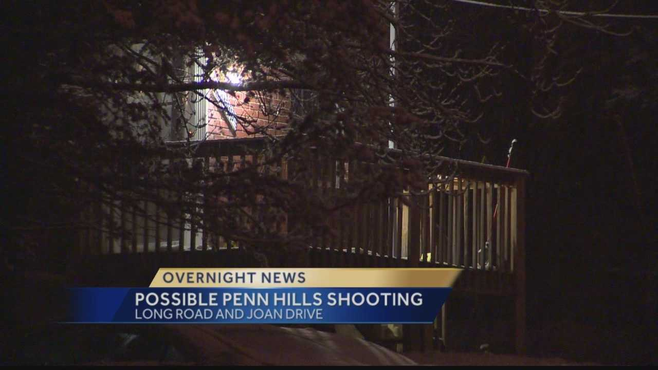 Police are still investigating a fatal shooting in Penn Hills.
